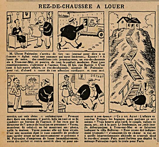 L'Epatant 1935 - n°1379 - Rez-de-chaussée à louer - 3 janvier 1935 - page 13