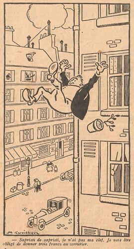 Le Pêle-Mêle 1926 - n°119 - page 17 - Sapristi de sapristi - 30 mai 1926