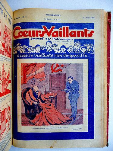 Reliure Coeurs Vaillants 1929 - du n°1 à 29 (5)