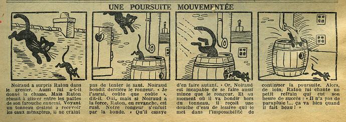Le Petit Illustré 1934 - n°1534 - page 7 - Une poursuite mouvementée - 4 mars 1934