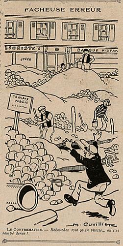 Le Pêle-Mêle 1925 - n°71 - page 16 - Fâcheuse erreur - 28 juin 1925