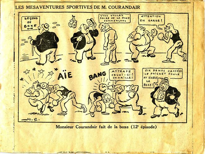 Les mésaventures sportives de M. COURANDAIR (12e épisode)