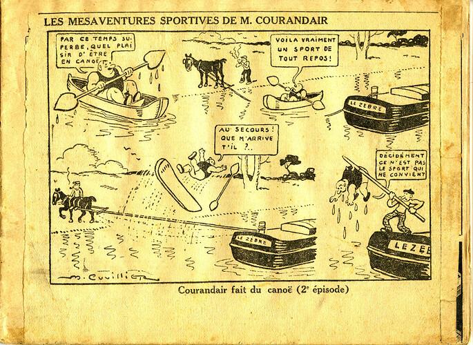 Les mésaventures sportives de M. COURANDAIR (2e épisode)
