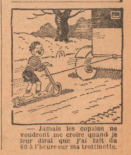Le Petit Illustré 1929 - n°1305 - page 7 - Jamais les copains - 13 octobre 1929
