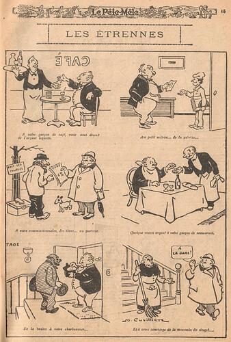 Le Pêle-Mêle 1926 - n°98 - page 15 - Les étrennes - 3 janvier 1926
