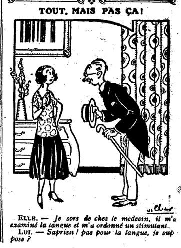 Le Pêle-Mêle 1926 - n°118 - page 11 - Tout mais pas ça (G) - 23 mai 1926