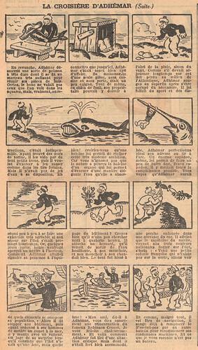 Le Petit Illustré 1929 - n°1271 - page 2 - La croisière d'Adhémar - 17 février 1929