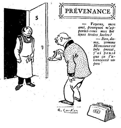 Le Pêle-Mêle 1925 - n°88 - page 3 - Prévenance (G) - 25 octobre 1925