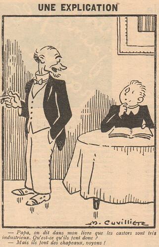 Le Pêle-Mêle 1929 - n°281 - Une explication - 7 juillet 1929 - page 7