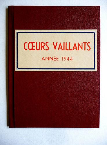 Reliure Coeurs Vaillants 1944 vendu en octobre 2020 (1)
