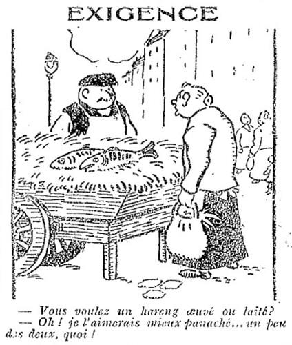 Le Pêle-Mêle 1927 - n°159 - page 11 - Exigence (G) - 6 mars 1927