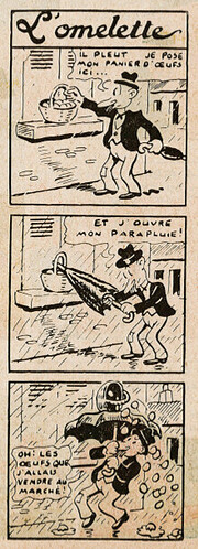 Pat épate 1949 - n°22 - L'omelette -  29 mai 1949 - page 22