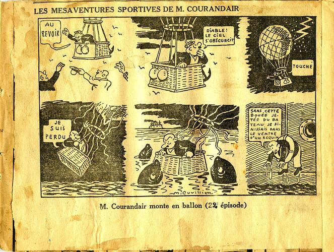 Les mésaventures sportives de M. COURANDAIR (22e épisode)
