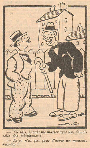 Le Pêle-Mêle 1929 - n°285 - Tu sais je vais me marier - 4 août 1929 - page 5