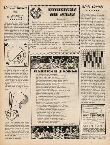 Ames Vaillantes 1937 - n°1 - 8 décembre 1937 - page 6