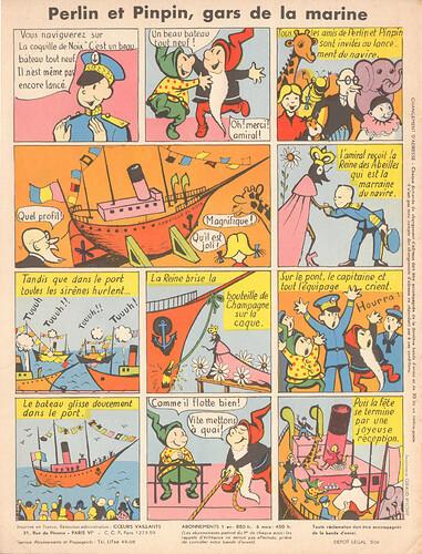 perlin et pinpin 1956 - n°3 - 4 novembre 1956 - page 8
