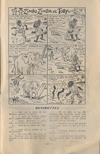 Almanach 1947 - Au rythme des saisons et des joies - page 57 - M. Cuvillier