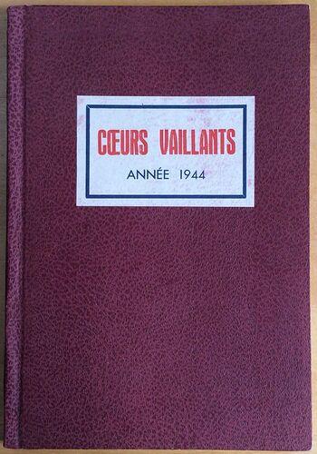 Reliure Coeurs Vaillants 1944 (1)