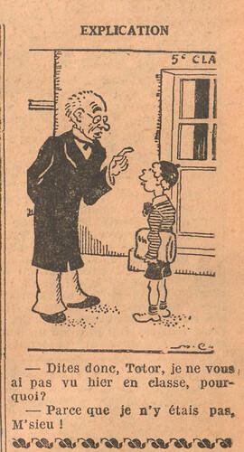 Le Petit Illustré 1929 - n°1286 - page 7 - Explication - 2 juin 1929