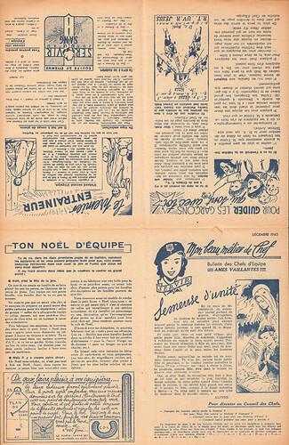 Bulletin des chefs d'équipe - Ames Vaillantes - Coeurs Vaillants  - décembre 1943 (2)