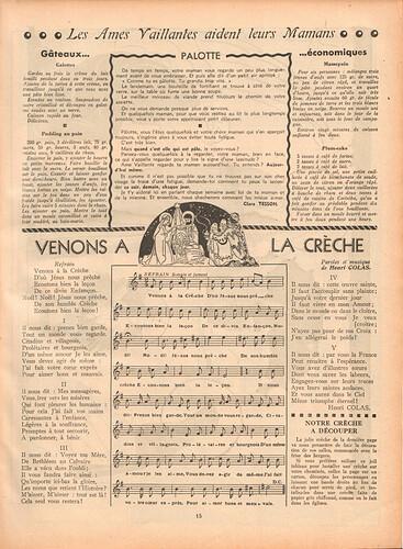 Ames Vaillantes 1937 - n°3 - 23  décembre 1937 - page 15