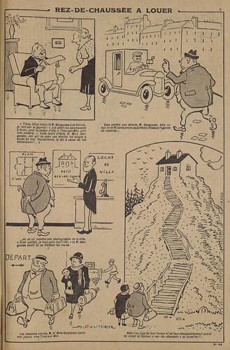 Pierrot 1926 - n°38 - page 5 - Rez-de-chaussée à louer - 12 septembre 1926