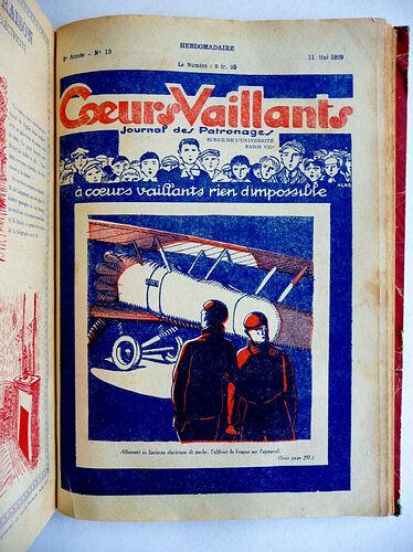 Reliure Coeurs Vaillants 1929 - du n°1 à 29 (7)