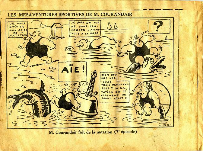 Les mésaventures sportives de M. COURANDAIR (7e épisode)