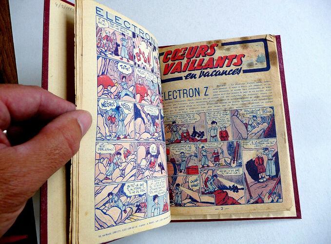 Reliure Coeurs Vaillants 1944 vendu en octobre 2020 (6)
