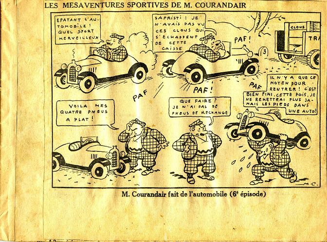 Les mésaventures sportives de M. COURANDAIR (6e épisode)