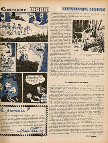 Ames Vaillantes 1937 - n°1 - 8 décembre 1937 - page 5