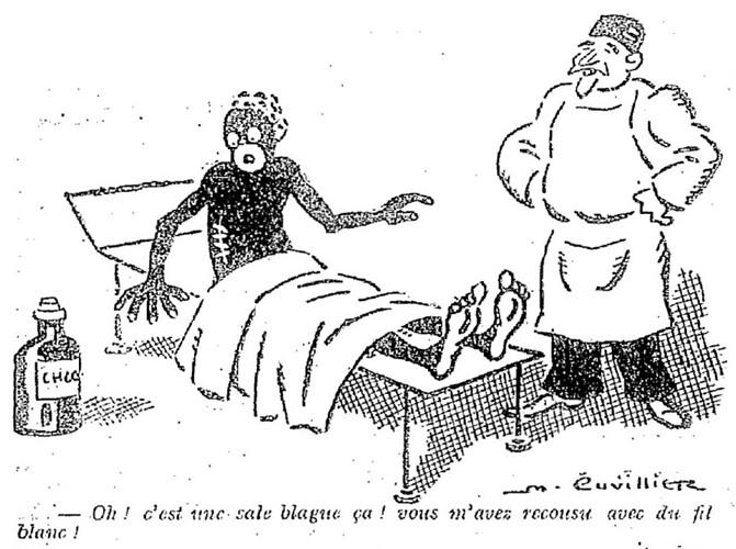Le Pêle-Mêle 1928 - n°249 - page 4 - Oh ! c'est une sale blague ça ! - 25 novembre 1928