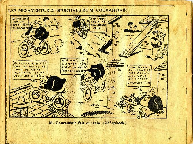 Les mésaventures sportives de M. COURANDAIR (23e épisode)