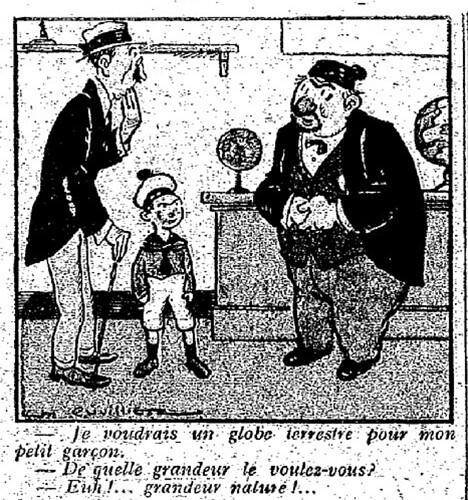 Le Pêle-Mêle 1925 - n°60 - page 10 - Je voudrais un globe terrestre (G) - 12 avril 1925