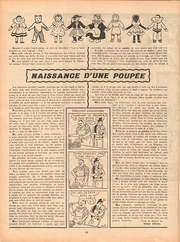 Ames Vaillantes 1937 - n°3 - 23  décembre 1937 - page 10