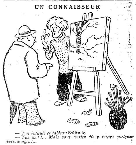 Le Pêle-Mêle 1927 - n°174 - page 17 - Un connaisseur (G) - 19 juin 1927