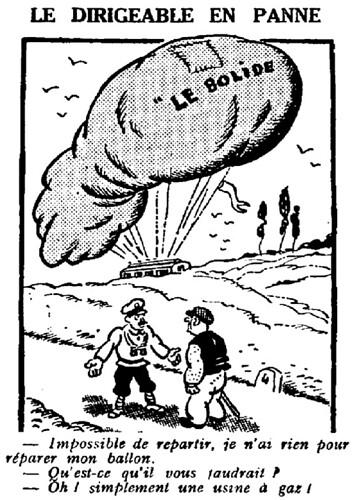 Le Pêle-Mêle 1929 - n°269 - Le dirigeable en panne - 14 avril 1929 - page 4