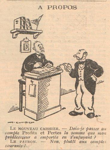 Le Pêle-Mêle 1929 - n°274 - A propos - 19 mai 1929 - page 11
