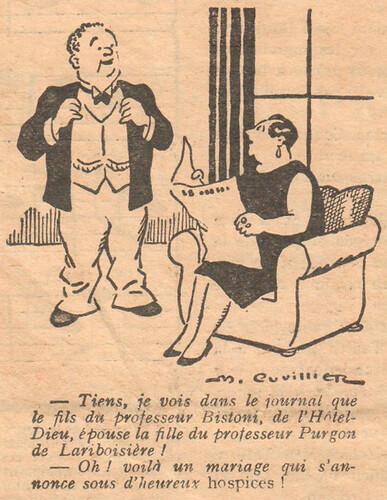 Le Pêle-Mêle 1927 - n°200 - page 18 - Tiens je vois dans le journal - 18 décembre 1927