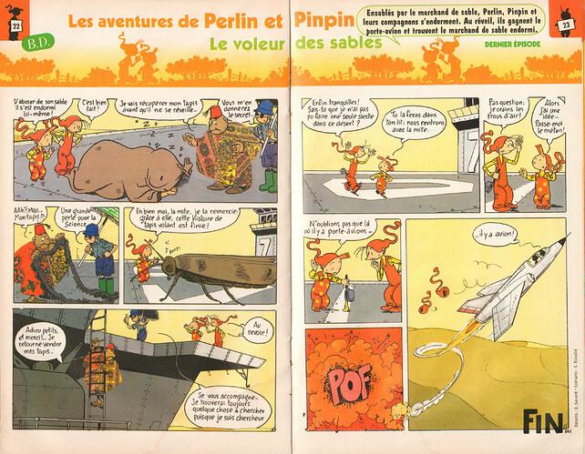 Semaine de Perlin - n°1122 - du 27 juin au 3 juillet 1998 - pages 22 et 23