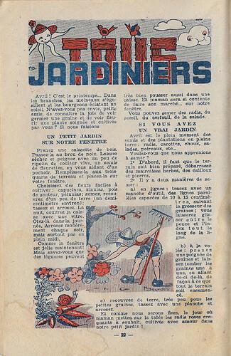 Almanach 1947 - Au rythme des saisons et des joies - page 22 - Marie Mad