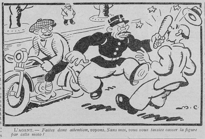 Le Pêle-Mêle 1930 - n°311 - Faites donc attention - 2 février 1930 - page 11