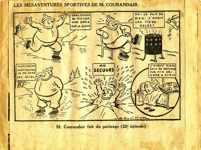 Les mésaventures sportives de M. COURANDAIR (20e épisode)