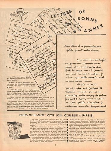 Ames Vaillantes 1937 - n°3 - 23  décembre 1937 - page 7