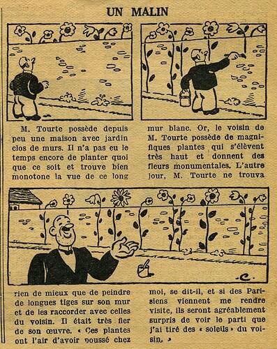 Le Petit Illustré 1932 - n°1435 - page 7 - Un malin - 10 avril 1932