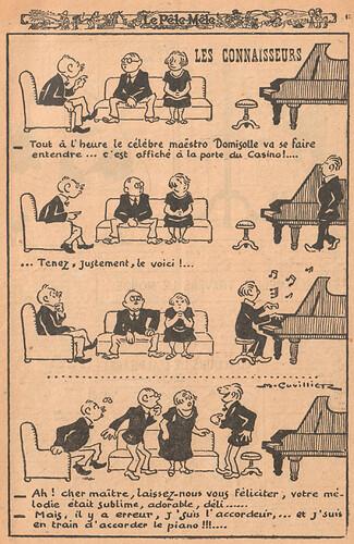 Le Pêle-Mêle 1926 - n°143 - page 15 - Les connaisseurs - 14 novembre 1926