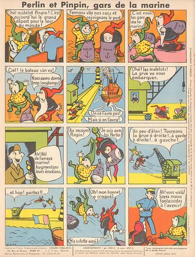 perlin et pinpin 1956 - n°4 - 11 novembre 1956 - page 8