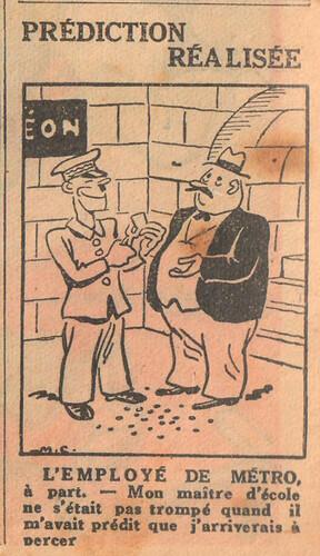 L'Epatant 1936 - n°1432 - Prédiction réalisée - 8 janvier 1936 - page 2