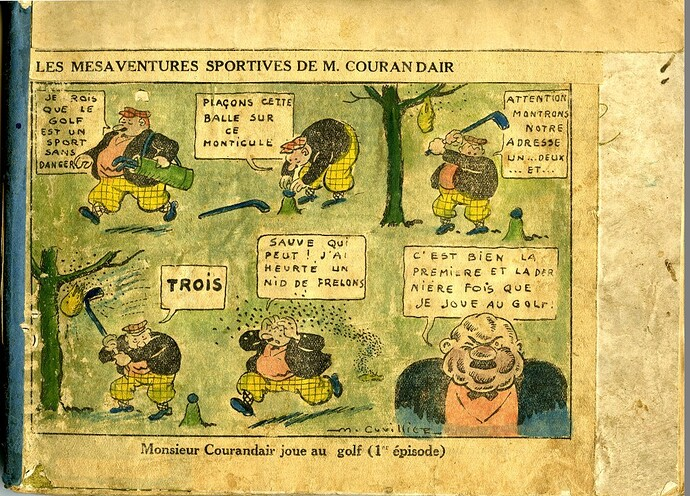 Les mésaventures sportives de M. COURANDAIR (1er épisode)