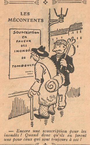 Le Pêle-Mêle 1927 - n°153 - page 6 - Les mécontents - 23 janvier 1927